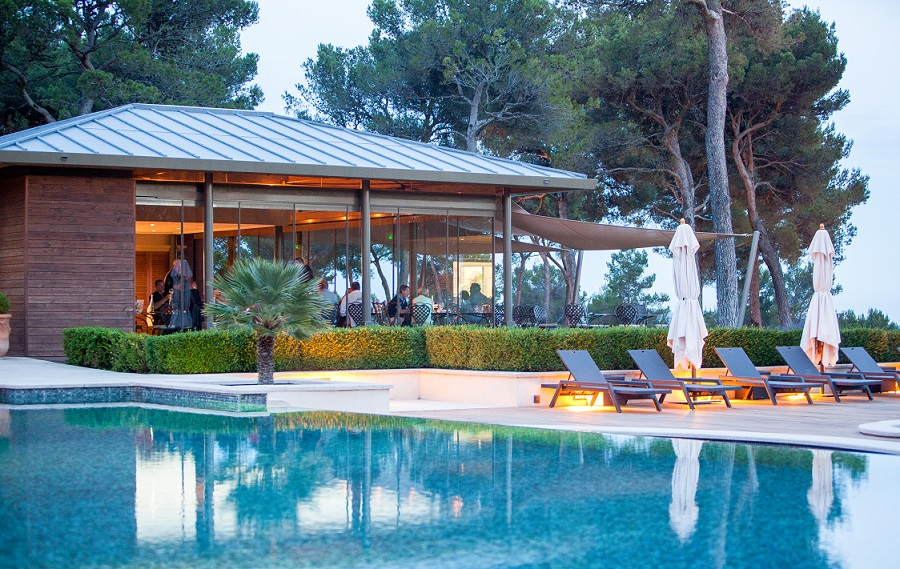bistrot gourmand piscine provence