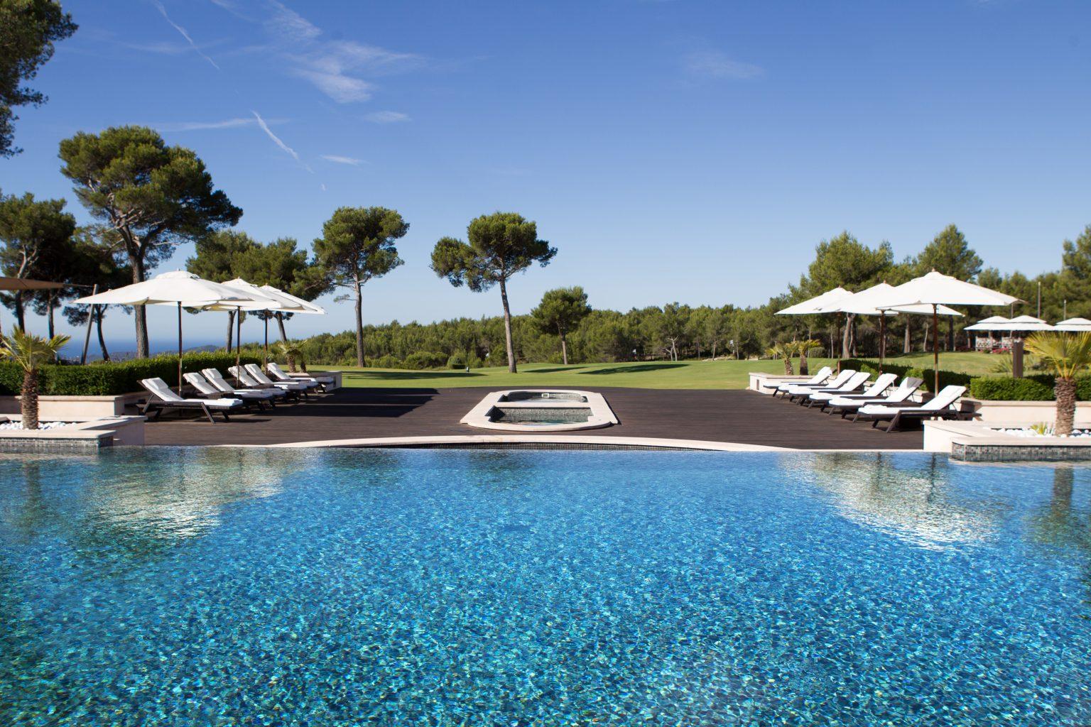 piscine de rêve provence var luxe