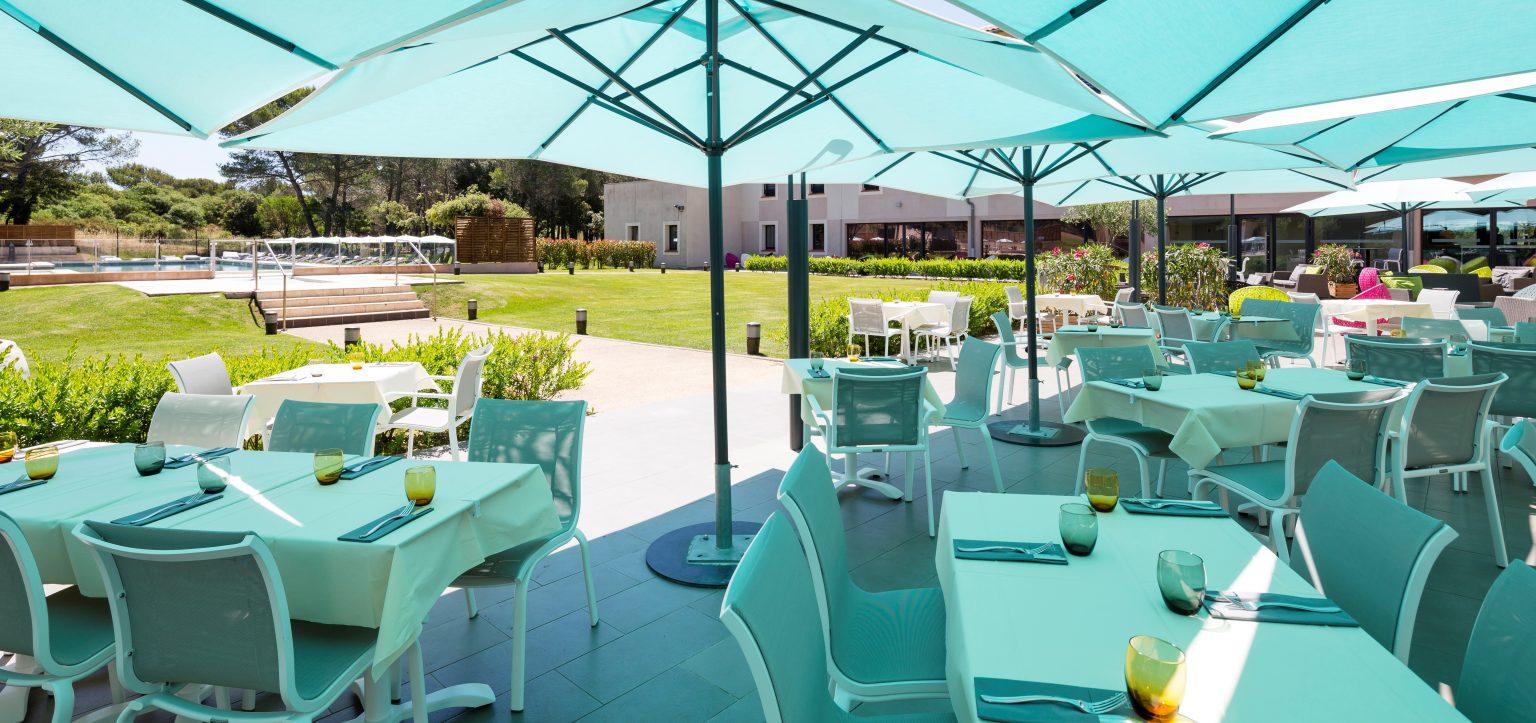 terrasse restaurant var soleil castellet